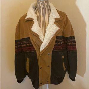 Oscar Piel Suede Design Jacket